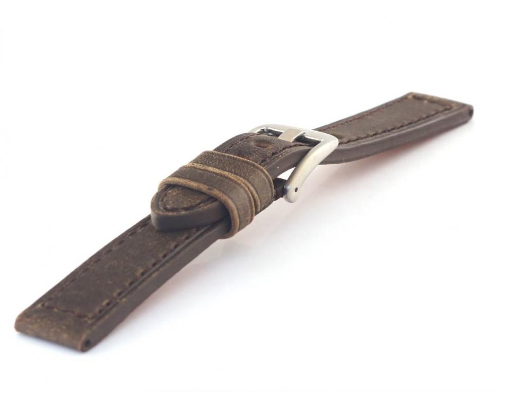 Pasek skórzany do zegarka sportowy 18 mm HORIDO 187.02