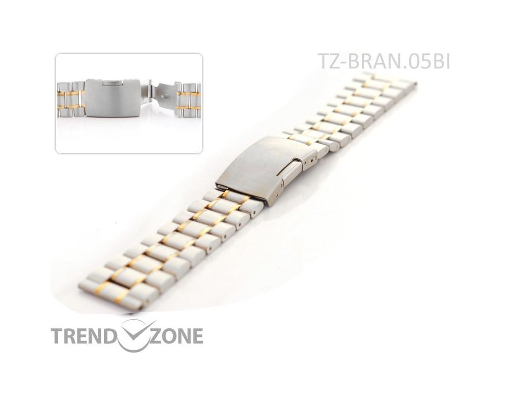 Stalowa bransoleta do zegarka 18-24 mm  TZ-BRAN01BI