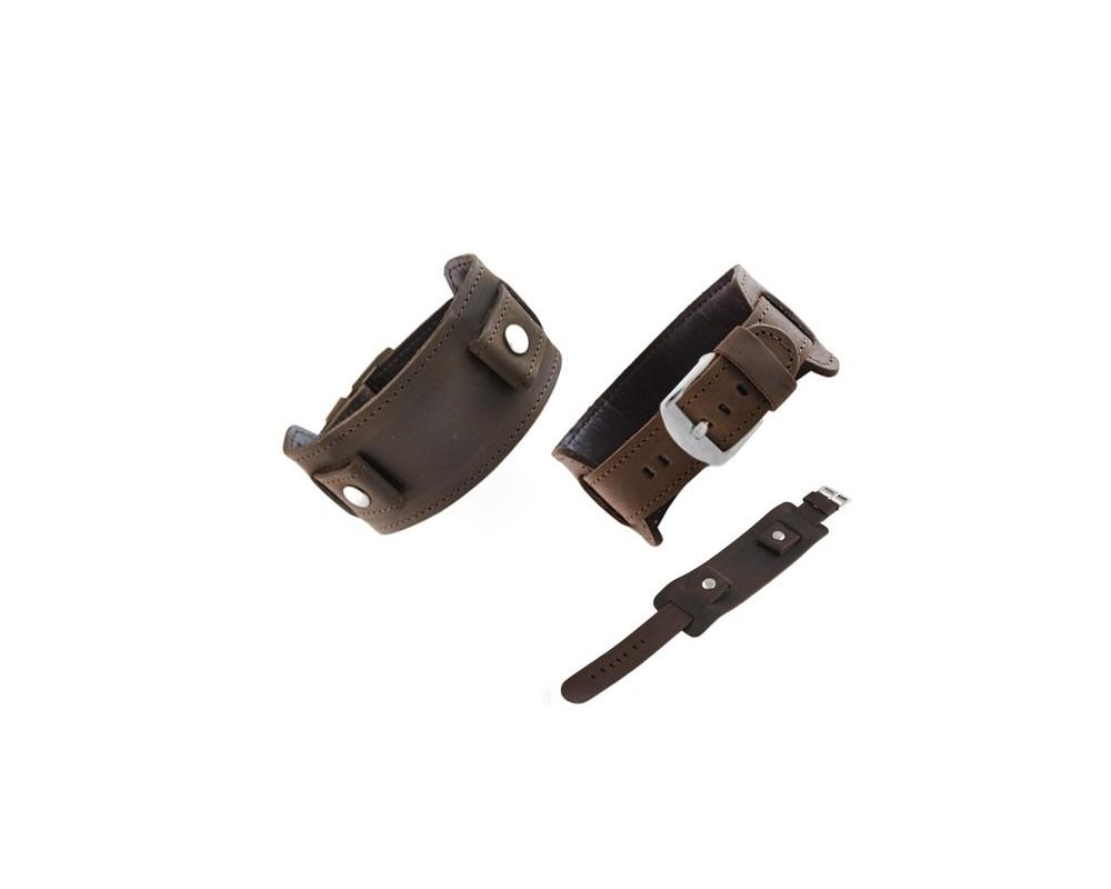 Pasek skórzany podkładka 16-28 mm HORIDO 112.02