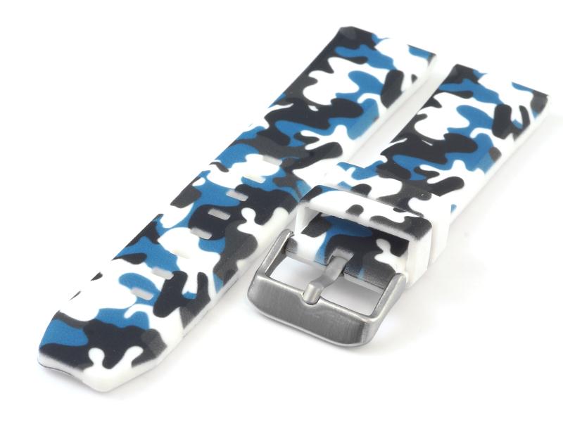 Pasek kauczukowy TZ-04.05 niebieski